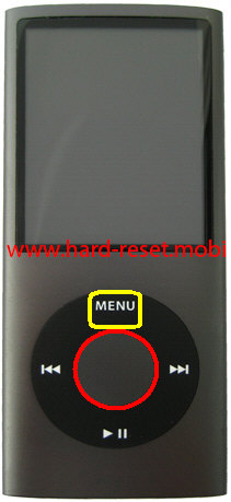 Apple iPod Nano 4G Soft Reset