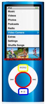 Apple iPod Nano 5G Disk Mode