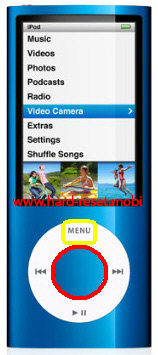 Apple iPod Nano 5G Soft Reset