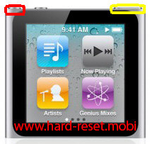 Apple iPod Nano 6G Soft Reset