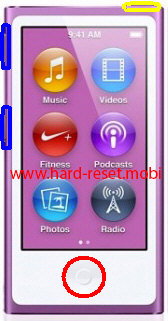 Apple iPod Nano 7G Disk Mode