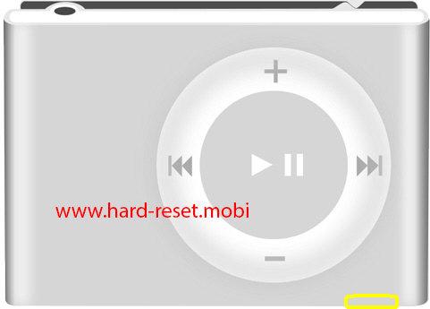 Apple iPod Shuffle 2G Soft Reset
