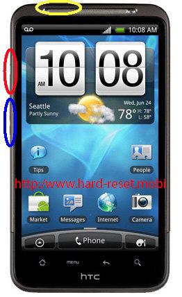 HTC Inspire 4G Hard Reset