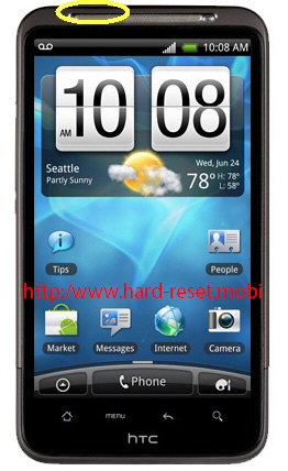 HTC Inspire 4G Soft Reset