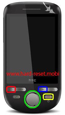 HTC Tattoo Hard Reset