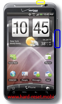 HTC Thunderbolt Hard Reset