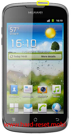 Huawei Ascend G300 Soft Reset