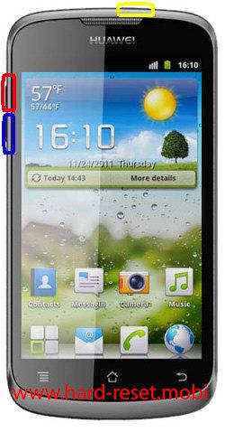 Huawei U8815 Hard Reset