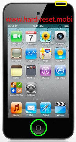 Apple iPod Touch 4G DFU Mode