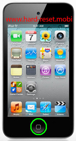 Apple iPod Touch 4G Recovery Mode