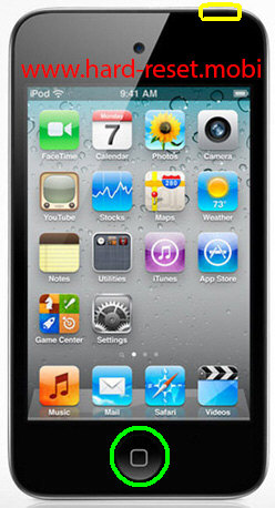 Apple iPod Touch 4G Soft Reset