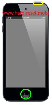 Apple iPod Touch 5G Soft Reset