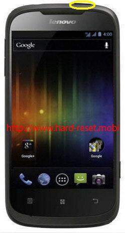 Lenovo A750 Soft Reset