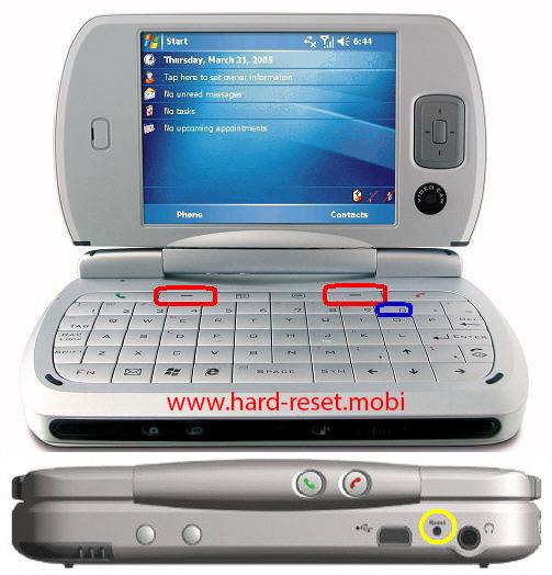 T-Mobile MDA Pro Hard Reset