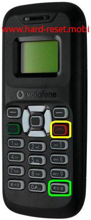 Vodafone 150 Hard Reset