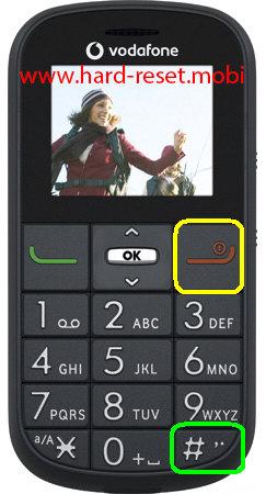 Vodafone 155 Hard Reset