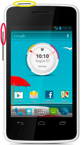 Vodafone 875 Smart Mini Hard Reset