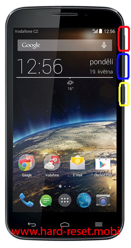 Vodafone Smart 4 Power Hard Reset