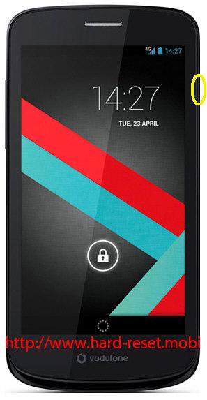 Vodafone Smart 4G Soft Reset