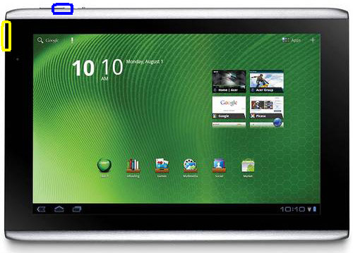 Acer Iconia Tab A501 Download Mode
