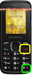 Alcatel One Touch 1060A Hard Reset