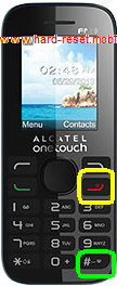 Alcatel One Touch 20.52 Hard Reset