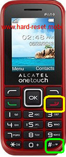 Alcatel One Touch 1042 Hard Reset