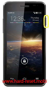 Vodafone 889N Soft Reset