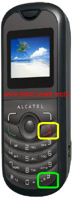 Alcatel One Touch 103 Hard Reset
