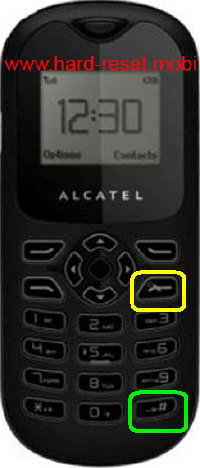 Alcatel One Touch 105 Hard Reset