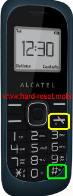 Alcatel One Touch 112 Hard Reset