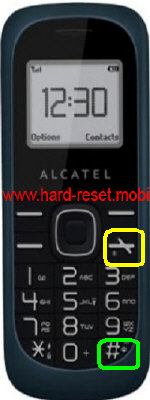 Alcatel One Touch 113 Hard Reset