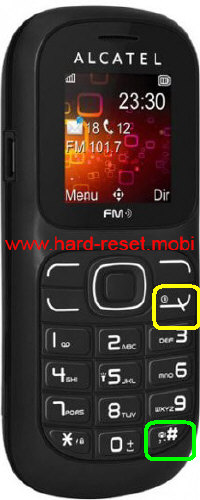 Alcatel One Touch 217 Hard Reset