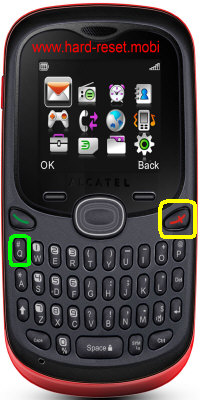 Alcatel One Touch 255D Hard Reset