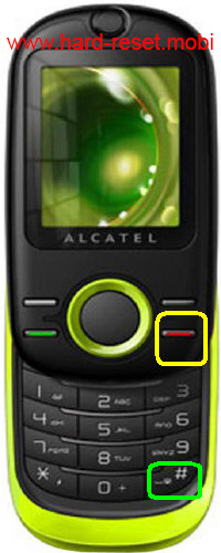 Alcatel One Touch 280 Hard Reset
