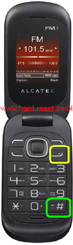Alcatel One Touch 292D Hard Reset