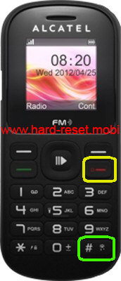 Alcatel One Touch 297  Hard Reset