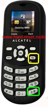 Alcatel One Touch 300 Hard Reset