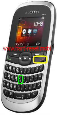 Alcatel One Touch 310 Hard Reset