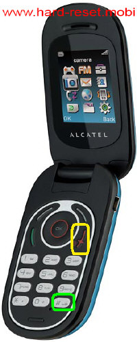 Alcatel One Touch 363 Hard Reset