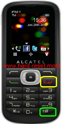 Alcatel One Touch 506 Hard Reset