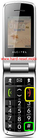 Alcatel One Touch 536 Hard Reset