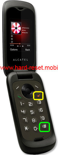 Alcatel One Touch 565 Hard Reset