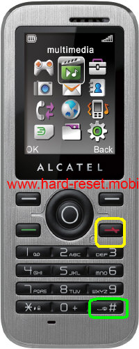 Alcatel One Touch 600 Hard Reset