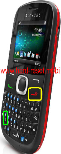 Alcatel One Touch 639G Hard Reset