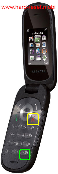 Alcatel One Touch 660 Hard Reset