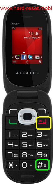 Alcatel One Touch 665 Hard Reset