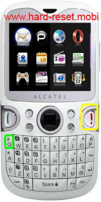 Alcatel One Touch 802 Wave Hard Reset