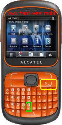 Alcatel One Touch 803F Hard Reset