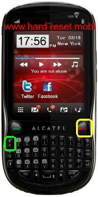 Alcatel One Touch 807D Hard Reset